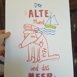 Der alte Hund und das Meer