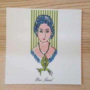 Postkarte das Juwel