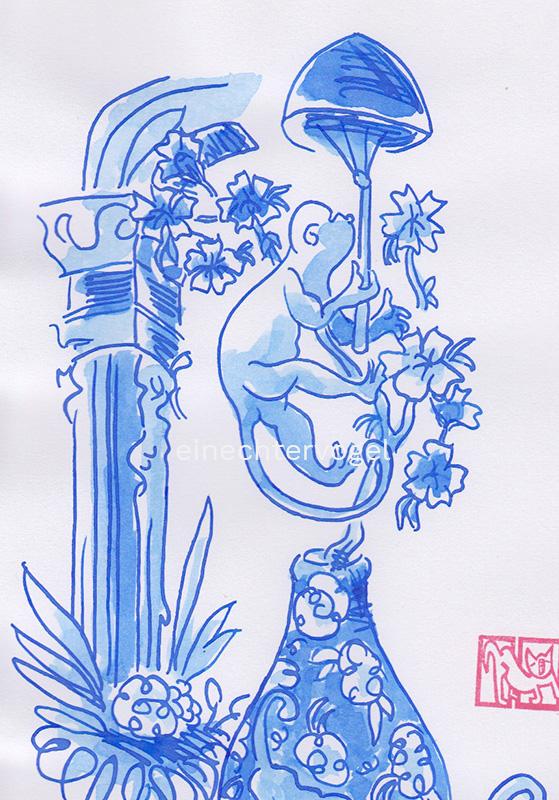 Affenvase Bild Nummer 1 Detailansicht