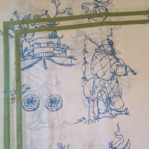Toile de jouy, Der Gaukler und sein Kranich