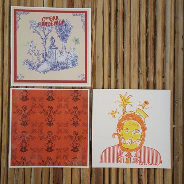 suche dir 3 Postkarten aus